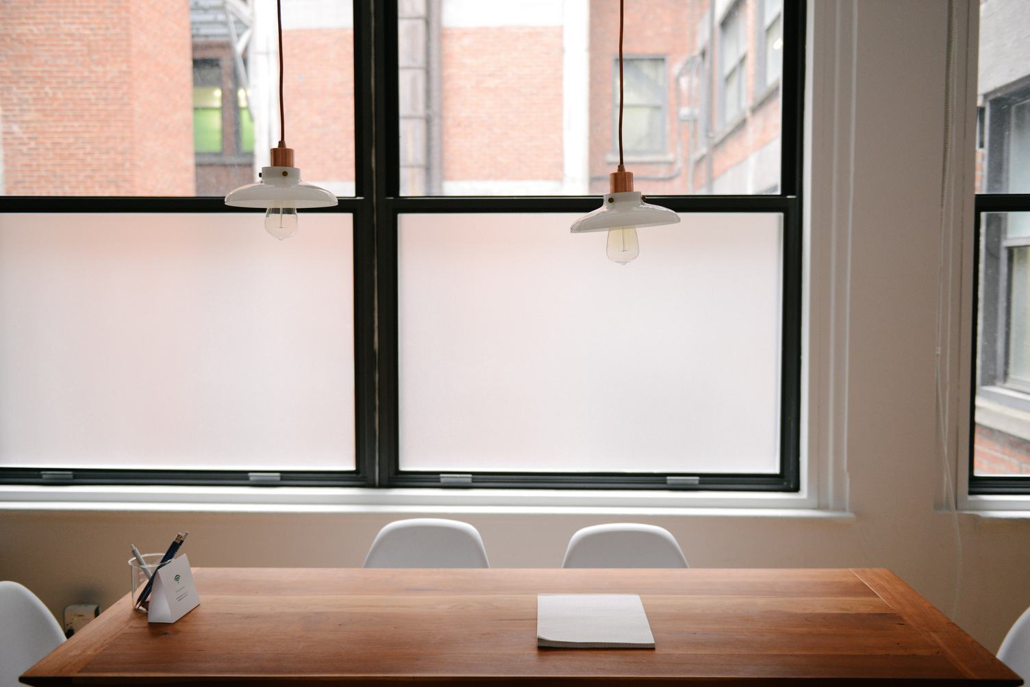 The Wooden Table, Minimalist Style Workspace
