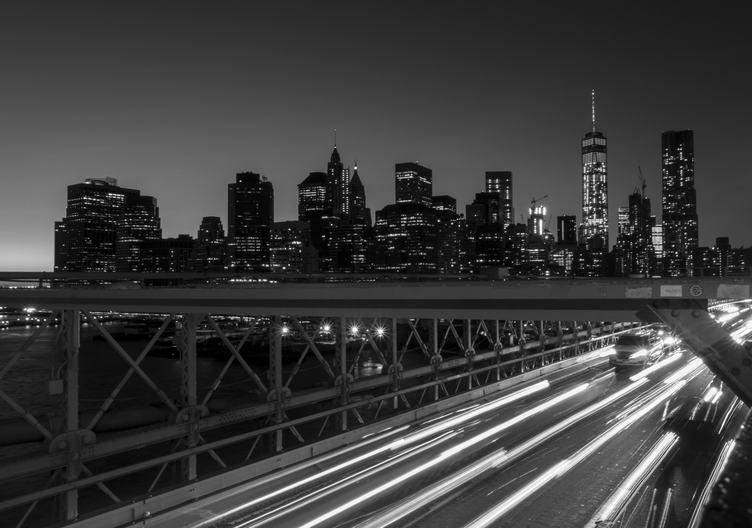 Brooklyn Bridge - New York at Night