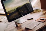 Minimal Workstation iMac