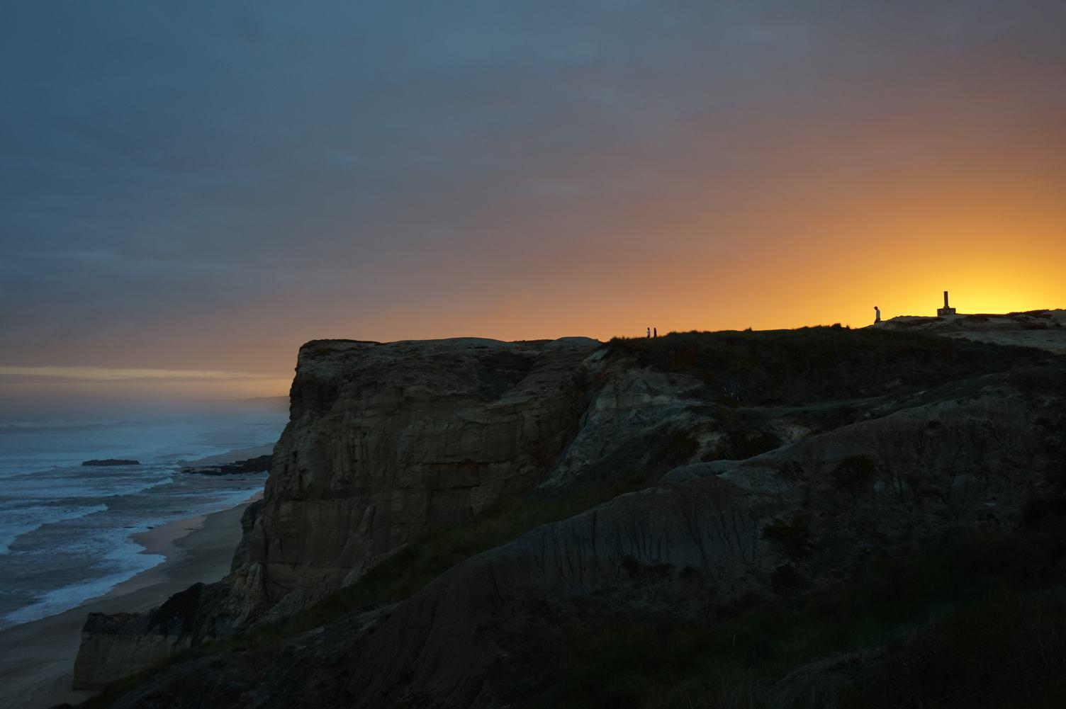 Sunset at the Coastline