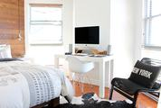 Modern Workplace in the Bedroom