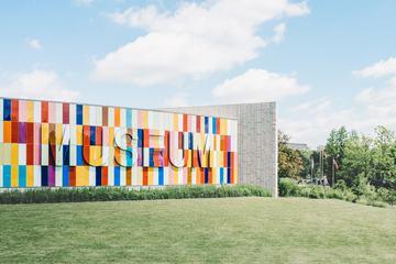Colourful Modern Building of Museum