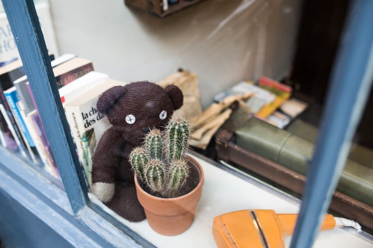 Windowsill with Cute Objects