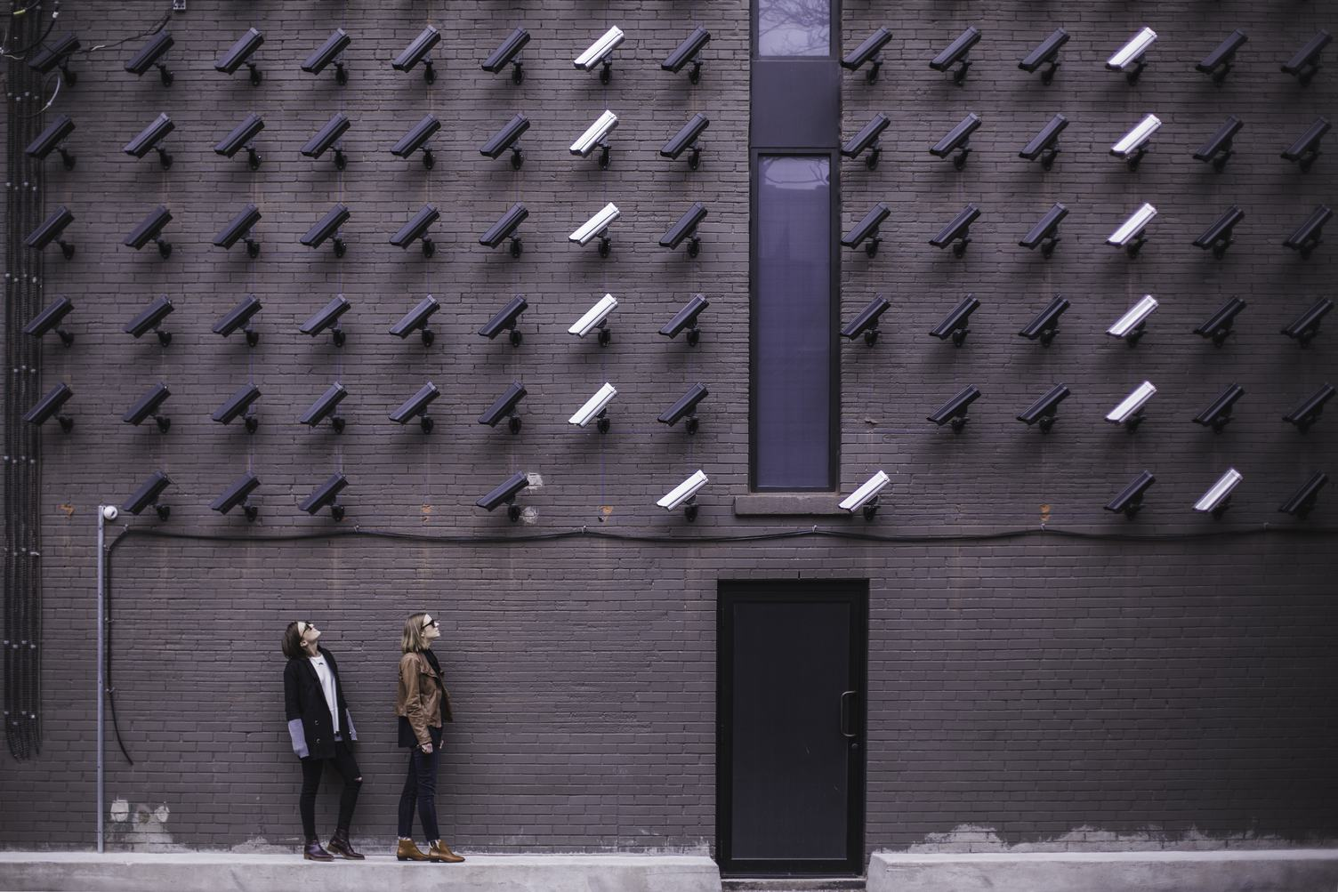 Many Surveillancs Cameras Keep an Eye on Women