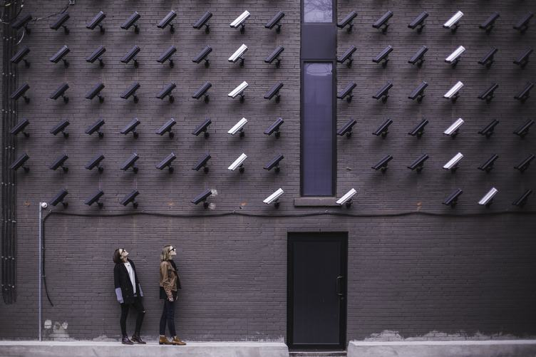 Many Surveillancs Cameras Keep an Eye on Women