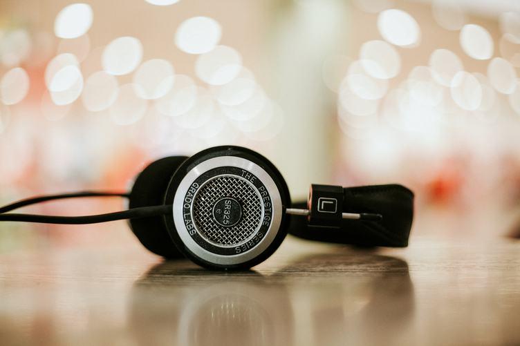 Headphones Background Bokeh