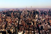 Skyline Panorama of Midtown Manhattan