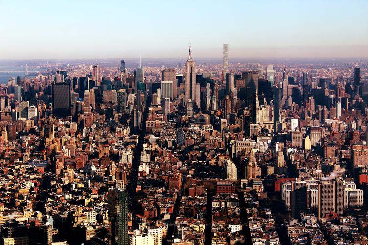 Skyline Panorama of Midtown Manhattan