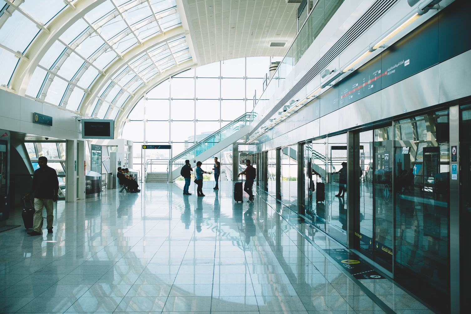 Airport Arrival Hall Interior