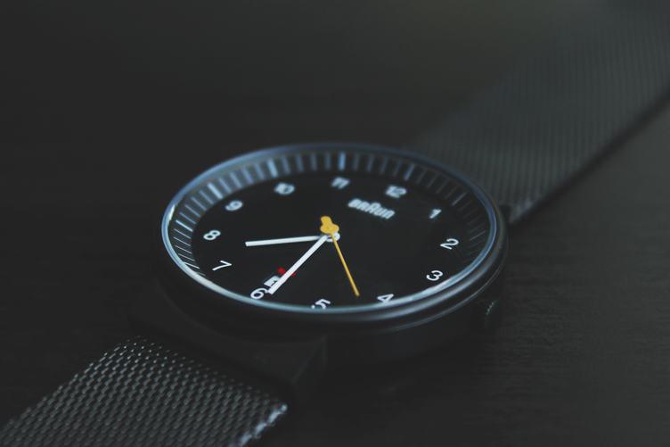 Black Watch on Black Background