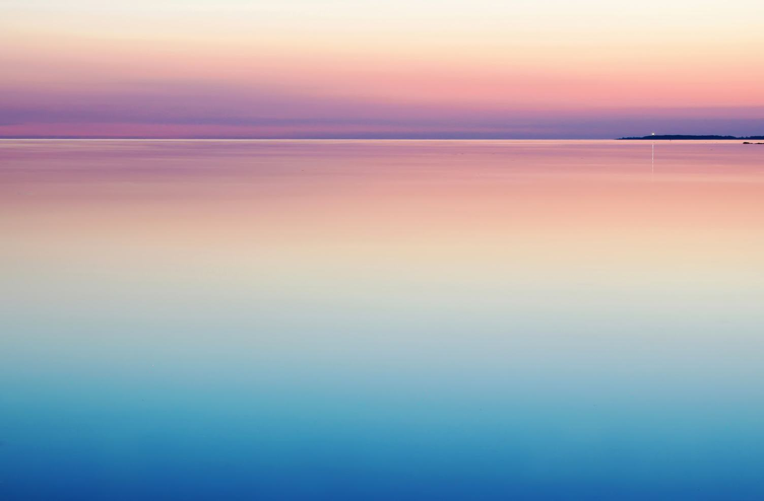 Colorful Background with Sea Sunset