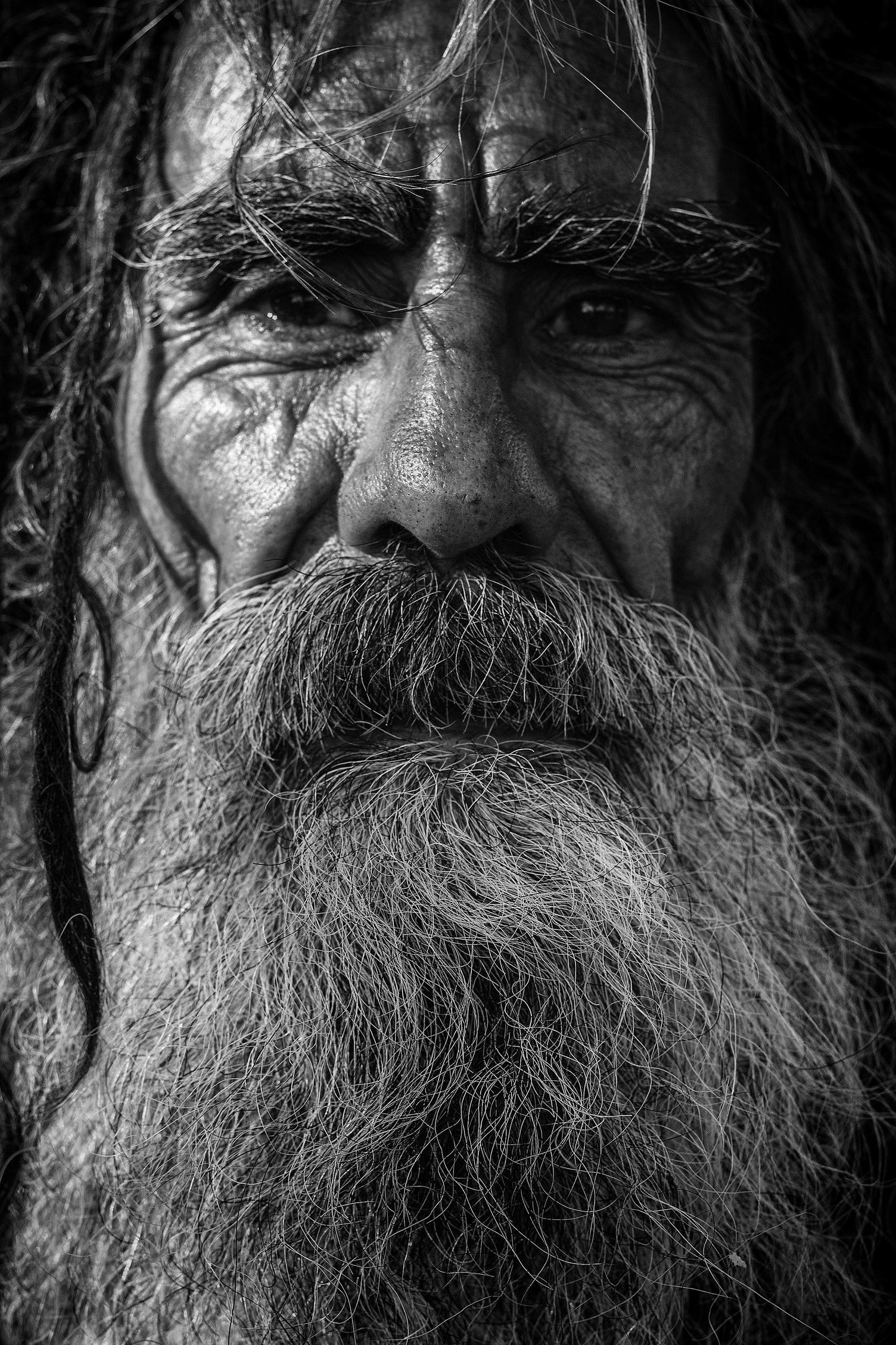 Old Man with Long Beard