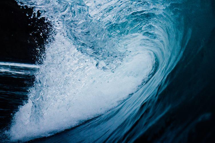Surfing Wave Breaks in the Ocean