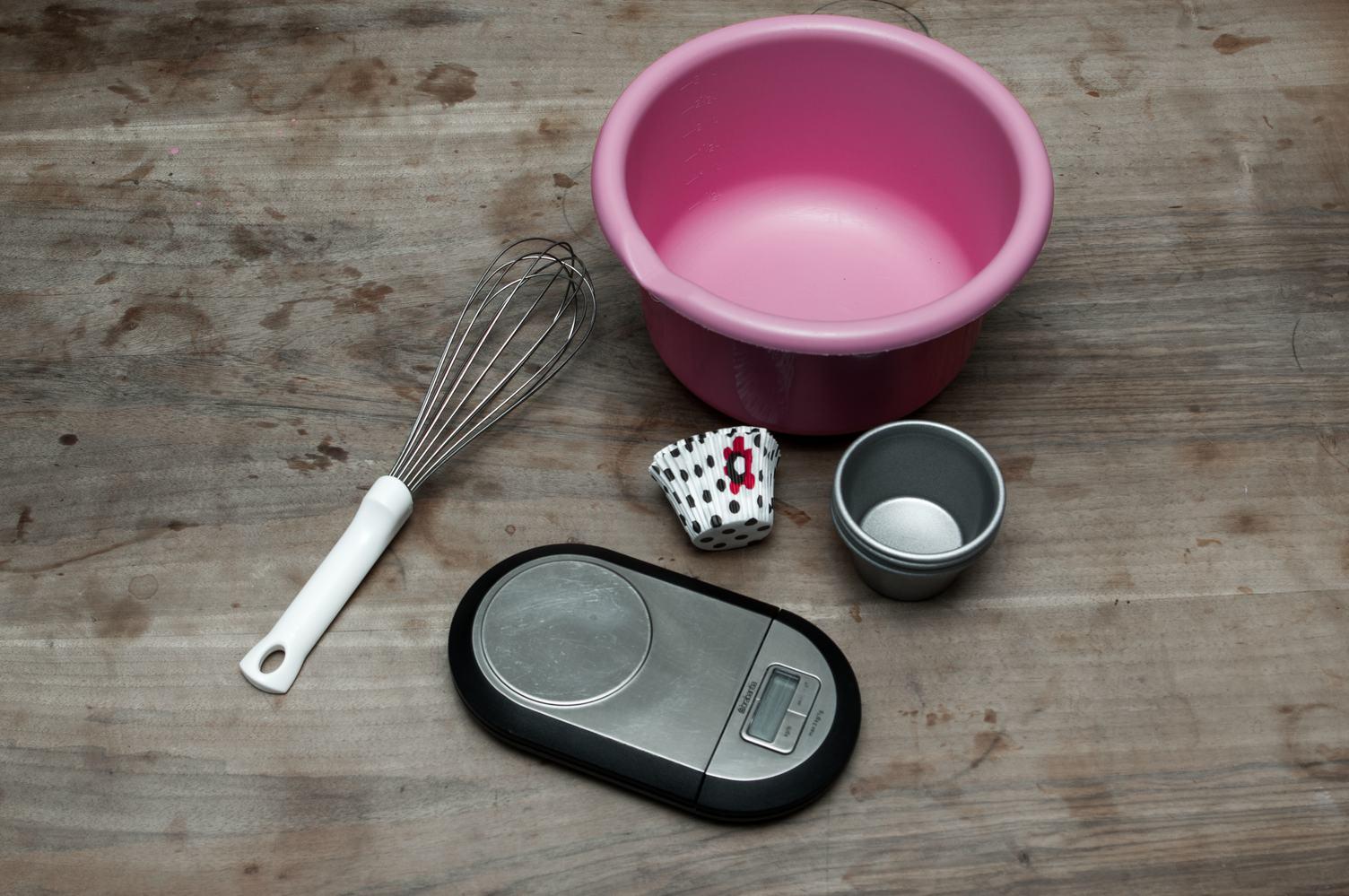 Homemade Baking - Cupcakes Preparation
