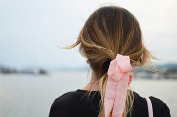 Back View of Woman Hair
