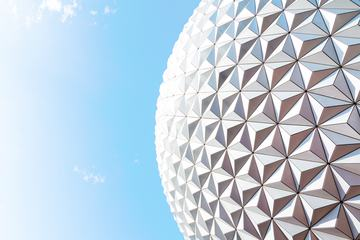 Modern Architecture Building Dome