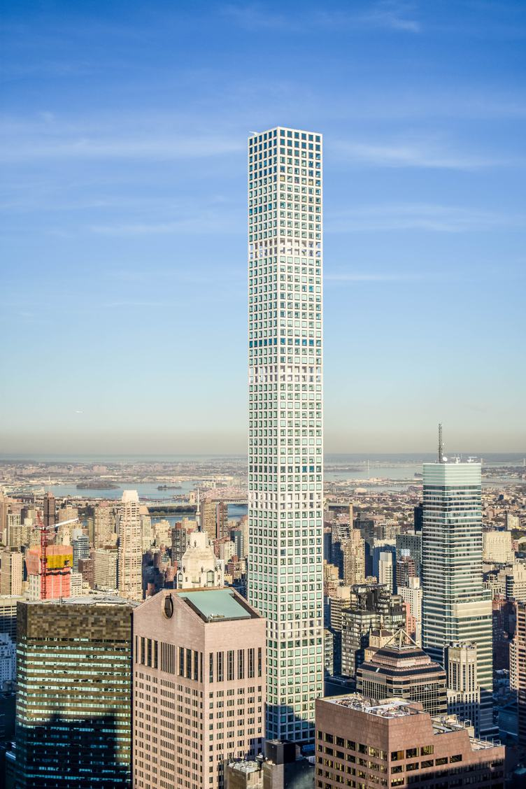 free photo aerial view of midtown manhattan including the 432 park avenue building. Black Bedroom Furniture Sets. Home Design Ideas