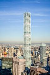 Aerial View of Midtown Manhattan Including the 432 Park Avenue Building