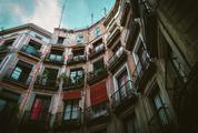 Tenement House in Barcelona, Spain