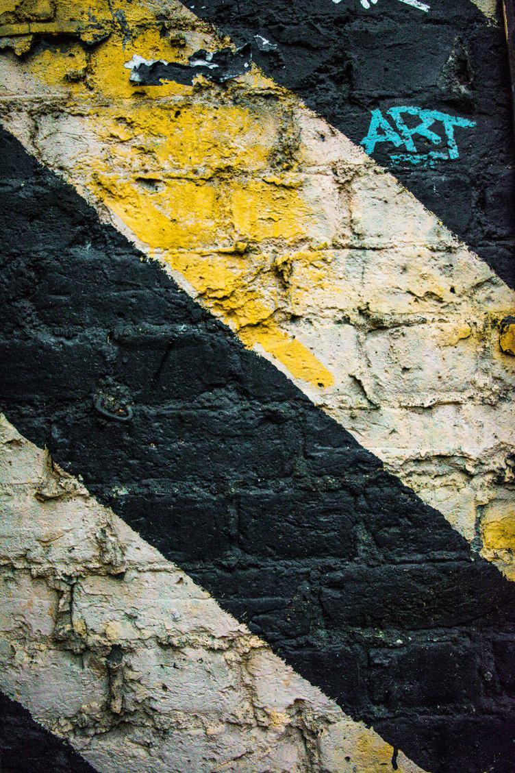 Painted Brick Wall Texture