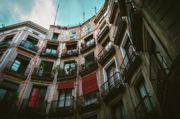Tenement House in Barcelona, Spain