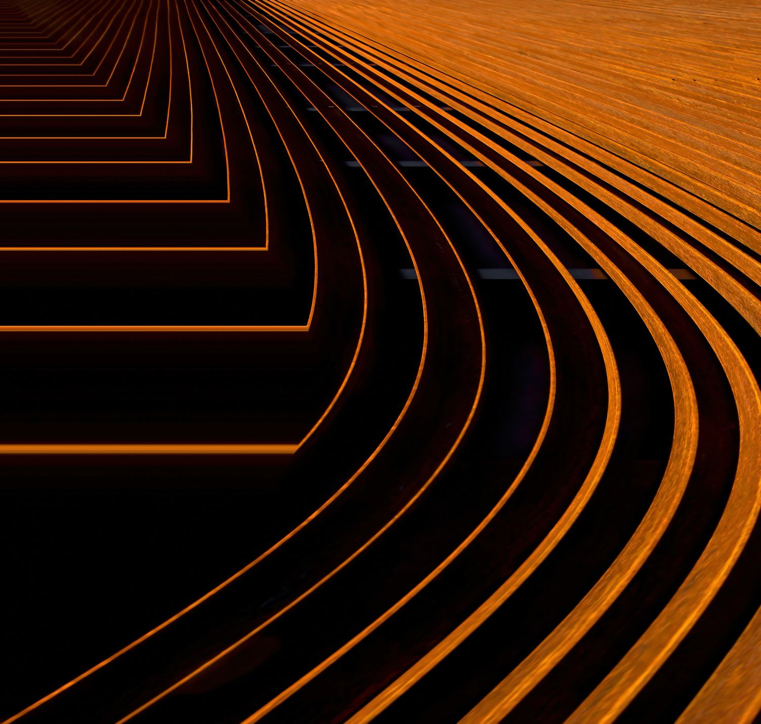 Abstract Steel Structure Background