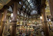 Bookstore in the Antique Interior