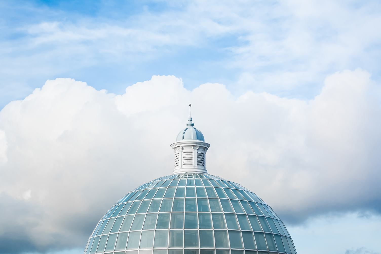 Glass Roofed Dome