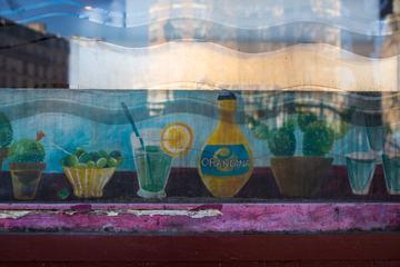 The Small Restaurant Window