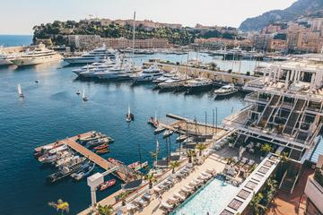 Luxury Yachts in the Marina