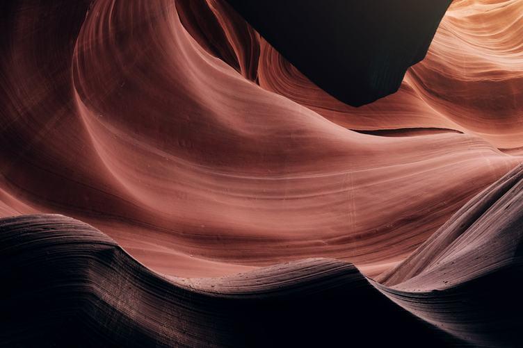 Swirling Sandstone Rocks