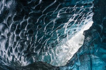 Abstract Texture of Ice Surface