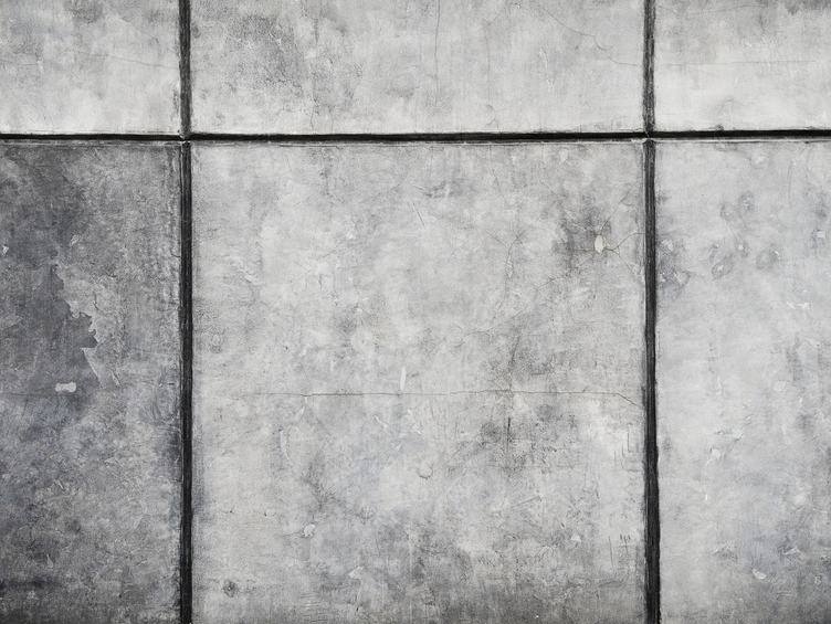 Old Tiled Gray Wall Texture