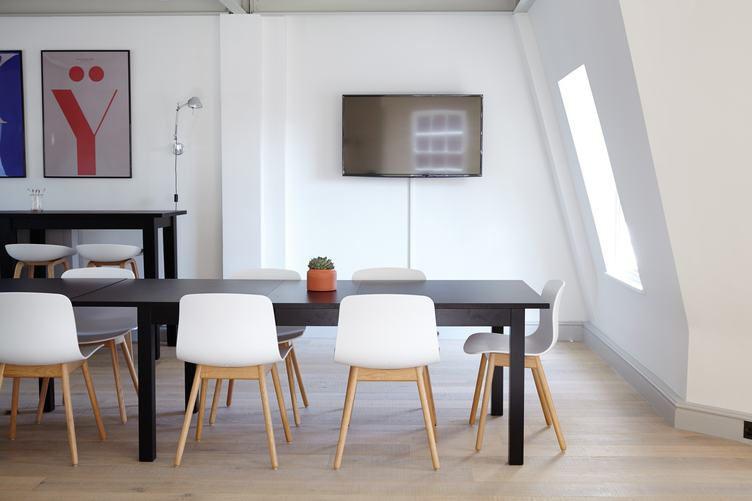 Interior Design, Large Modern Dining Table