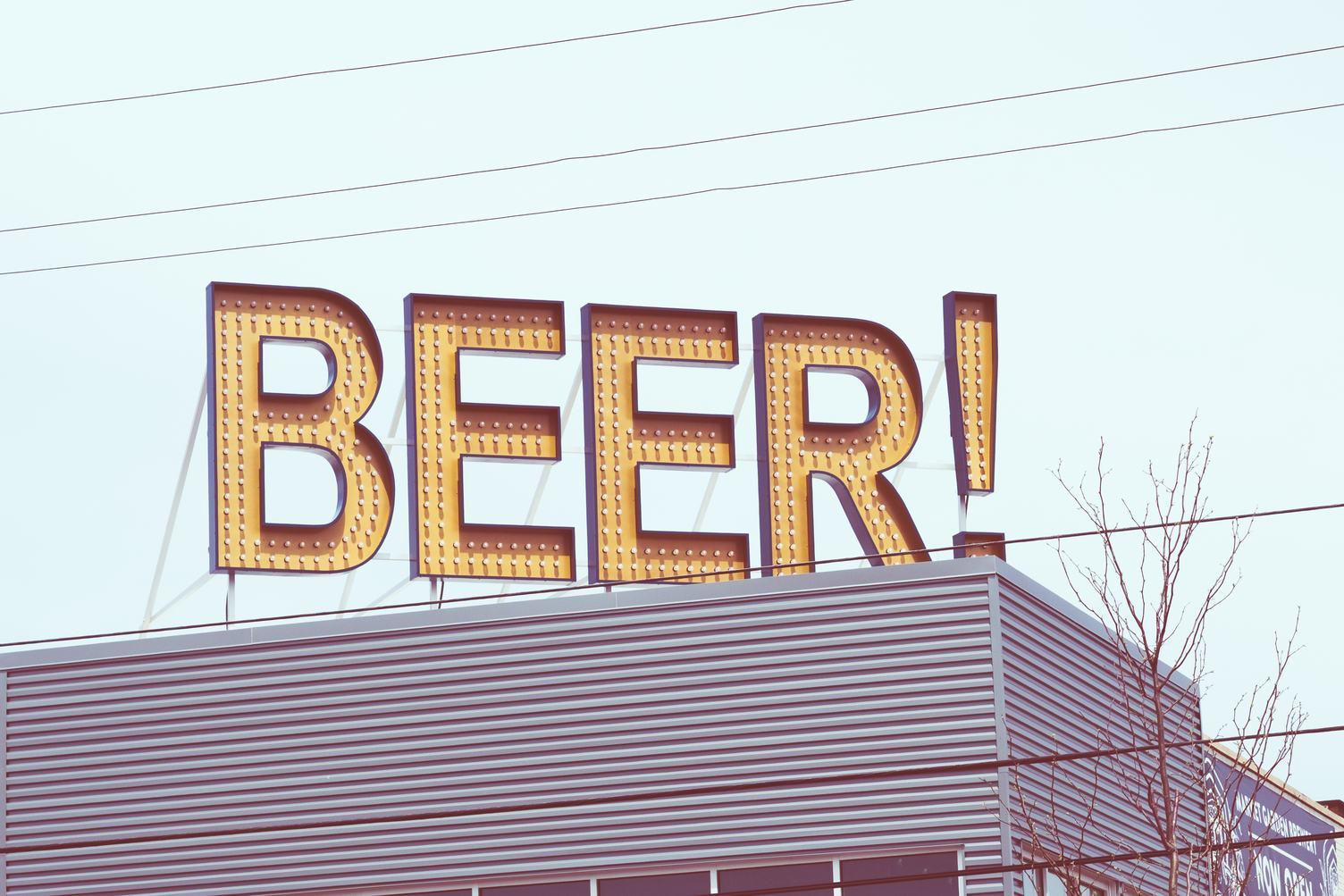 Beer Bar Neon Sign