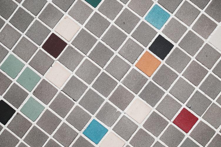Square Gray Geometrical Pattern Background