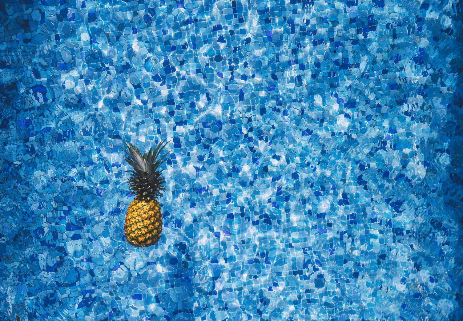 Pineapple in the Swimming Pool
