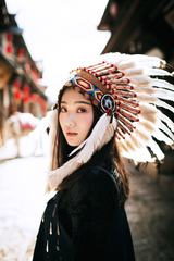 Beautiful Girl Native American Indian