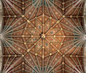 Saint Peter's Cathedral in Peterborough, Central Tower Ceiling