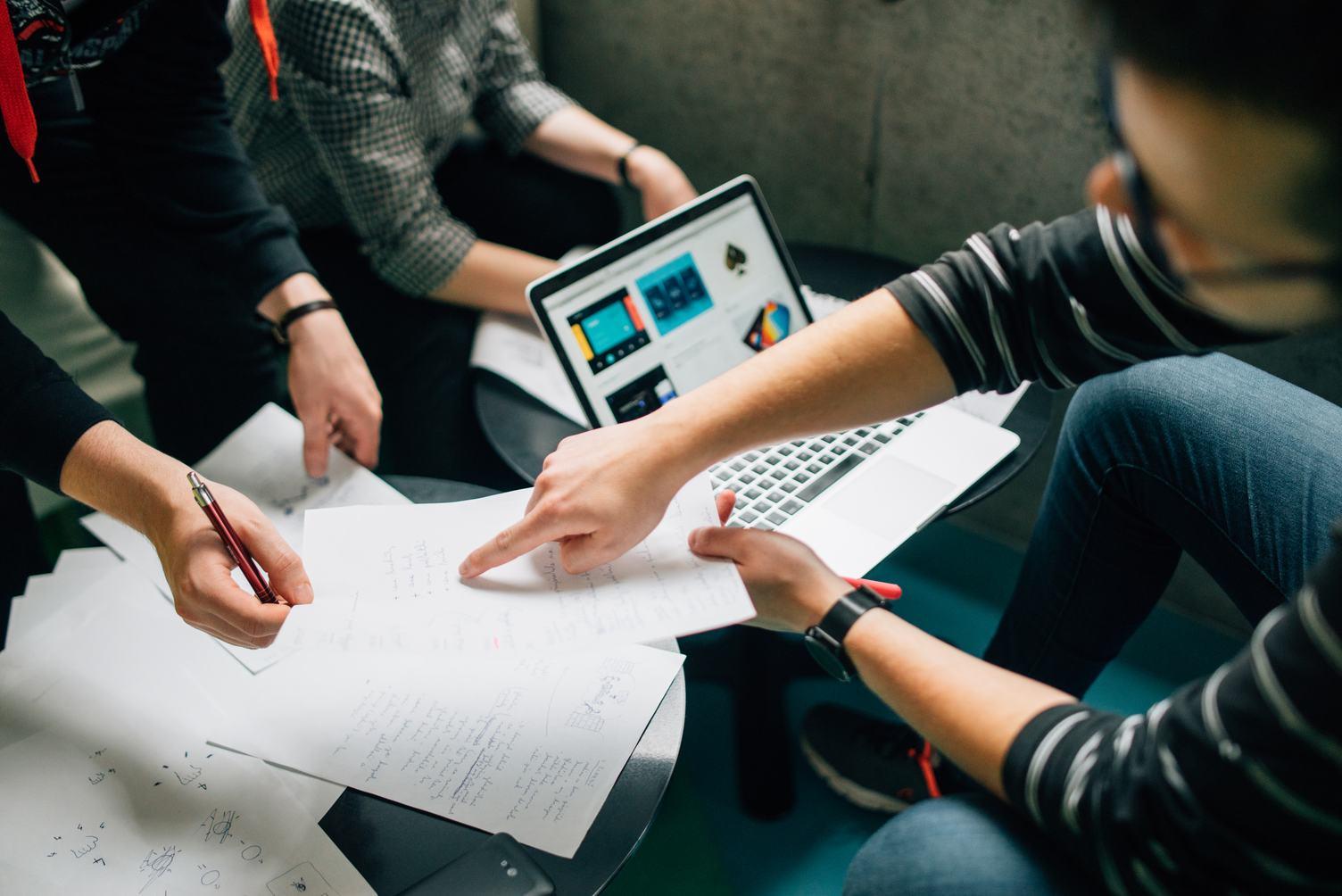 Teamwork Brainstorming Meeting Concept Business