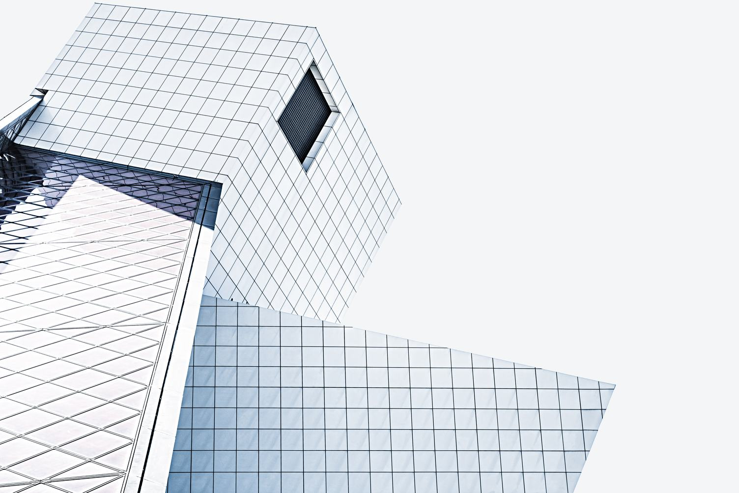 Modern Architecture - Building with Facade of Glass