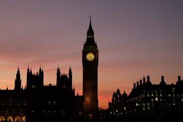 Big Ben and Houses of Parliament London at Night