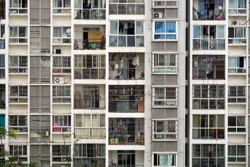 Block of Flats, Facade