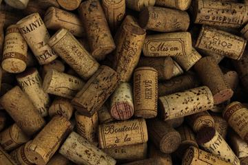 Various Used Wine Corks