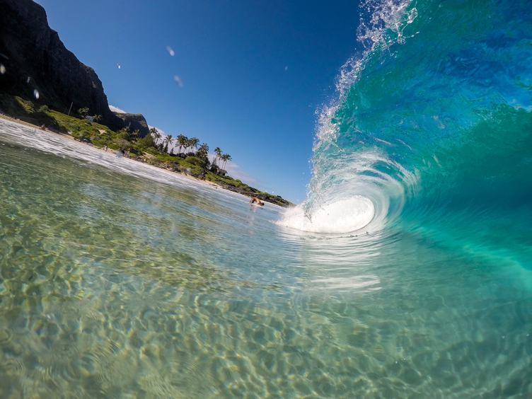 Inside Small Wave