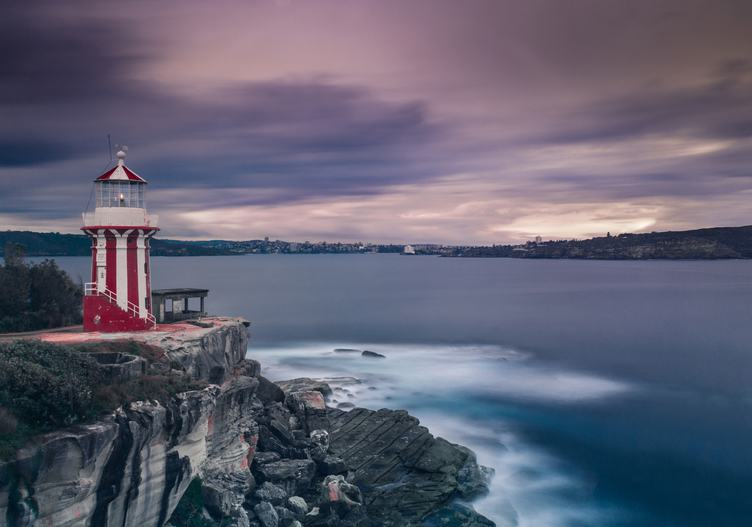 Hornby Lighthouse, Also Known as South Head Lower Light