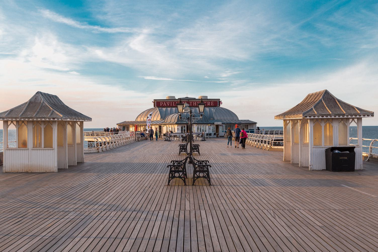 Cromer Pier on the Norfolk Coast in England