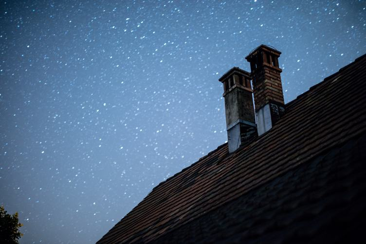 A Starry Sky Above the Roof