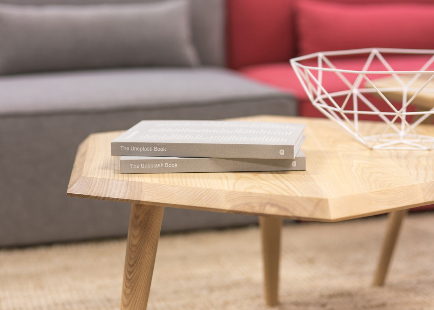 Books on Wooden Table in the Room