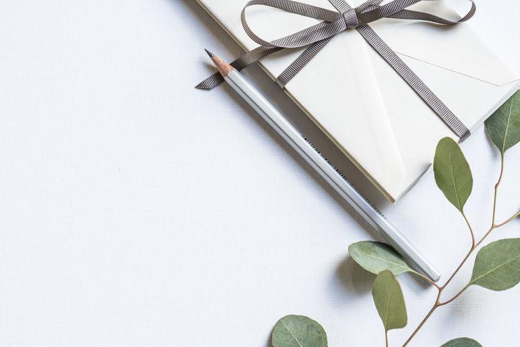Flat Lay Craft Invitation